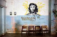 Image of Ernesto Che Guevara in Cueto, Holguin, Cuba.