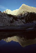 Colby Lake, Colby Peak, Sequoia and Kings Canyon National Parks, California