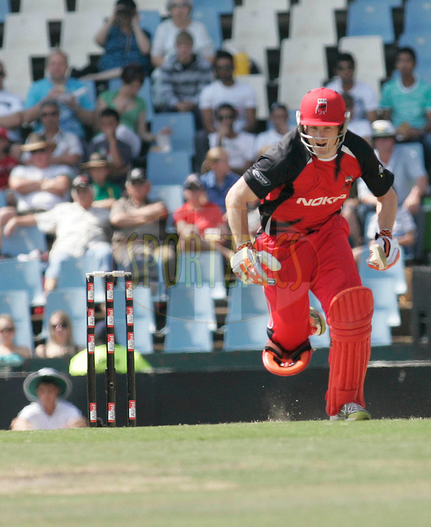 Redbacks player Daniel Harris during match 4 of the Airtel CLT20 held between the Lions and The Redbacks at Supersport Park in Centurion on the 12 September 2010..Photo by: Abbey Sebetha/SPORTZPICS/CLT20