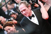 Tommy Lee Jones at the The Homesman gala screening red carpet at the 67th Cannes Film Festival France. Sunday 18th May 2014 in Cannes Film Festival, France.