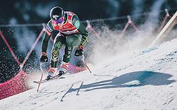 24.01.2020, Streif, Kitzbühel, AUT, FIS Weltcup Ski Alpin, SuperG, Herren, im Bild Ryan Cochran-Siegle (USA) // Ryan Cochran-Siegle of the USA in action during his run for the men's SuperG of FIS Ski Alpine World Cup at the Streif in Kitzbühel, Austria on 2020/01/24. EXPA Pictures © 2020, PhotoCredit: EXPA/ JFK