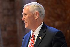 NY: Vice President Elect Mike Pence At Trump Tower, 22 Nov. 2016