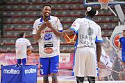 DESCRIZIONE : Eurocup 2015-2016 Last 32 Group N Dinamo Banco di Sardegna Sassari - Cai Zaragoza<br /> GIOCATORE : Jajuan Johnson Tony Mitchell<br /> CATEGORIA : Before Pregame Ritratto Fair Play<br /> SQUADRA : Dinamo Banco di Sardegna Sassari Acqua Vitasnella Cantu'<br /> EVENTO : Eurocup 2015-2016<br /> GARA : Dinamo Banco di Sardegna Sassari - Cai Zaragoza<br /> DATA : 27/01/2016<br /> SPORT : Pallacanestro <br /> AUTORE : Agenzia Ciamillo-Castoria/C.Atzori