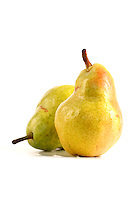 Pear on white background - studio shot