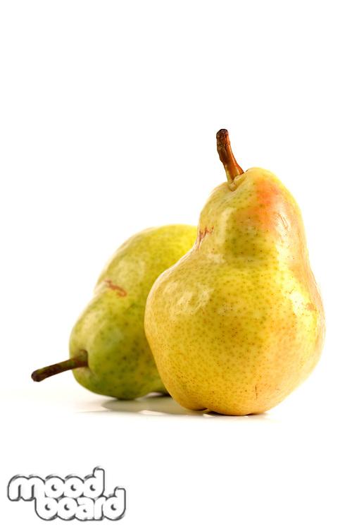 Pear on white background - studio shot
