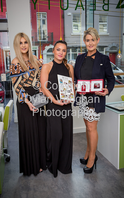 Repro Free no charge for Repro<br /> 19-5-16<br /> <br /> A brand new beauty experience has launched in Kilkenny. The city&rsquo;s four star boutique Pembroke Hotel has opened its new &lsquo;MINT at the Pembroke&rsquo; Beauty, Laser and Shop destination. Pictured at the launch are Bernice Doran, Jessica Moulds Tracy Ward.<br /> <br /> <br /> Picture Dylan Vaughan.