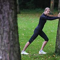 Nederland, Amsterdam , 18 oktober 2012..Claartje Schroder heeft een artikel geschreven over recreatief marathon lopen..Foto:Jean-Pierre Jans