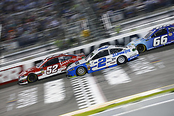 September 22, 2018 - Richmond, Virginia, United States of America - Gray Gaulding (52) battles for position during the Federated Auto Parts 400 at Richmond Raceway in Richmond, Virginia. (Credit Image: © Chris Owens Asp Inc/ASP via ZUMA Wire)