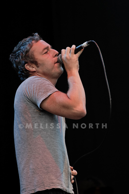 Baxter Dury performs live on stage at Standon Calling, Herts, UK on 13 August 2011.  JPH/B2779