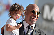 Dwayne Johnson Honored With Star - 13 Dec 2017