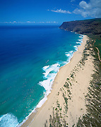 Polihale Beach, Kauai, Hawaii, USA<br />
