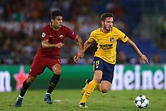 AS Roma v Atletico Madrid - 12 Sept 2017
