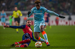 December 13, 2018 - Budapest, Hungary - Callum Hudson-Odol (R) in action during the UEFA Europa League Group L match between MOL Vidi FC and Chelsea FC at Groupama stadium on Dec 13, 2018 in Budapest, Hungary. (Credit Image: © Robert Szaniszlo/NurPhoto via ZUMA Press)