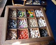 Sweets in shop display box, Zuiderzee museum, Enkhuizen, Netherlands