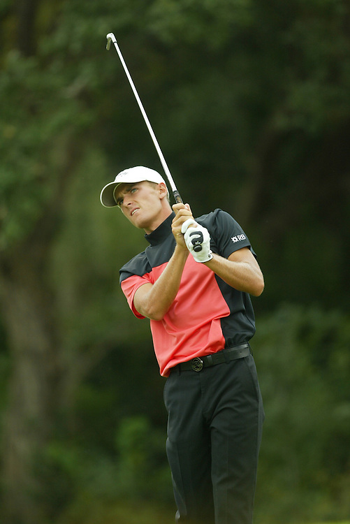 Charles Howell III..2003 Valero Texas Open..Westin La Cantera Resort..San Antonio, TX..Saturday, September 27 2003..photograph by Darren Carroll