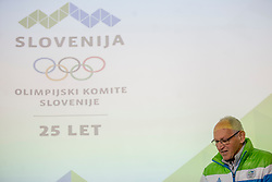 Miro Cerar at press conference of Slovenian Curling Association before Olympic Celebration Tour in Zalog, on February 9, 2018 in Olympic center BTC, Ljubljana, Slovenia. Photo by Urban Urbanc / Sportida