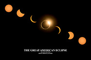 Limited Edition Solar Eclipse 2017 Fine Art Metal Print