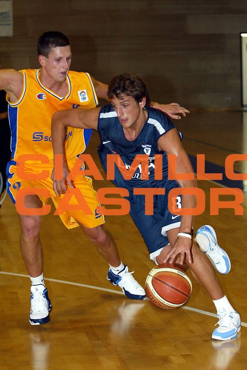DESCRIZIONE : BOLOGNA CAMPIONATO LEGA A1 2005-2006<br />GIOCATORE : BELINELLI<br />SQUADRA : CLIMAMIO FORTITUDO BOLOGNA<br />EVENTO : CAMPIONATO LEGA A1 2005-2006<br />GARA : ALLENAMENTO  CLIMAMIO FORTITUDO BOLOGNA<br />DATA :17/09/2005<br />CATEGORIA : Precampionato<br />SPORT : Pallacanestro<br />AUTORE : AGENZIA CIAMILLO &amp; CASTORIA/L.Villani