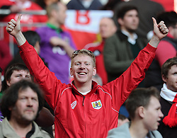 Fans  - Photo mandatory by-line: Joe Meredith/JMP - Mobile: 07966 386802 - 22/03/2015 - SPORT - Football - London - Wembley Stadium - Bristol City v Walsall - Johnstone Paint Trophy Final