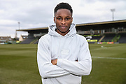Forest Green Rovers Shawn McCoulsky(21) during the EFL Sky Bet League 2 match between Forest Green Rovers and Yeovil Town at the New Lawn, Forest Green, United Kingdom on 16 February 2019.