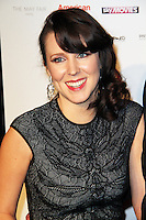 Alice Lowe, The London Critics Circle Film Awards, May Fair Hotel, London UK, 20 January 2013, (Photo by Richard Goldschmidt)