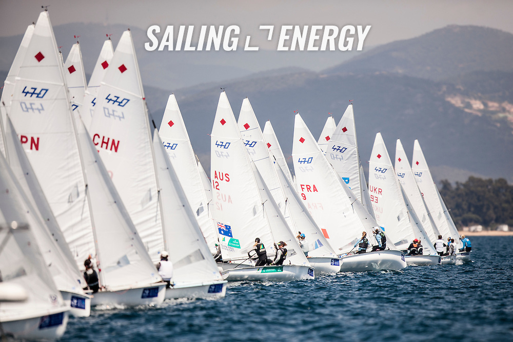 &copy;SAILING ENERGY Sailing Photography.<br /> From 20-26 April 2015 ISAF Sailing World Cup Hy&egrave;res returns to the French Riviera, bringing together the world's top Olympic and Paralympic class competitors. ISAF Sailing World Cup Hy&egrave;res is the penultimate regatta included in the 2015 ISAF Sailing World Cup, the seventh edition of the annual series for Olympic sailing.<br /> ISAF Sailing World Cup Hyeres is a qualification regatta for the 2015 ISAF Sailing World Cup Final scheduled for 29 October to 1 November 2015 in Abu Dhabi, United Arab Emirates. Hyeres gold medallists in each Olympic event will qualify for the World Cup Final.
