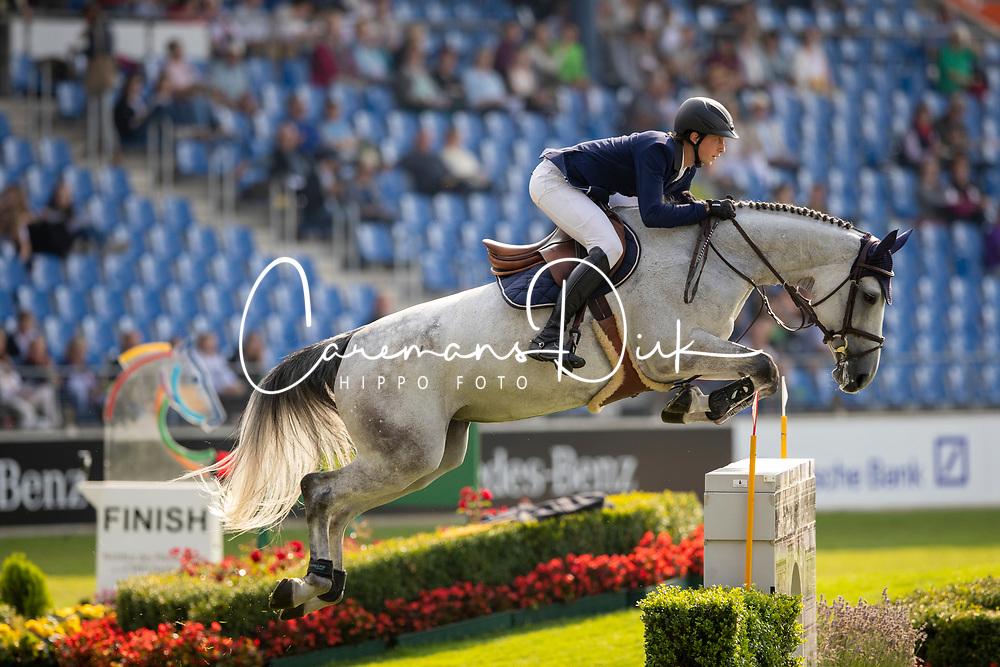 Fuchs Martin, SUI, Chica B Z<br /> CHIO Aachen 2019<br /> Weltfest des Pferdesports<br /> © Hippo Foto - Stefan Lafrentz<br /> Fuchs Martin, SUI, Chica B Z