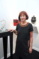 JANICE BLACKBURN at the Moet Hennessy Pavilion of Art & Design London Prize 2009 held in Berkeley Square, London on 12th October 2009.