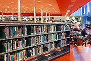 Nederland, Nijmegen, 11-1-2008..Openbare Bibliotheek...Foto: Flip Franssen/Hollandse Hoogte