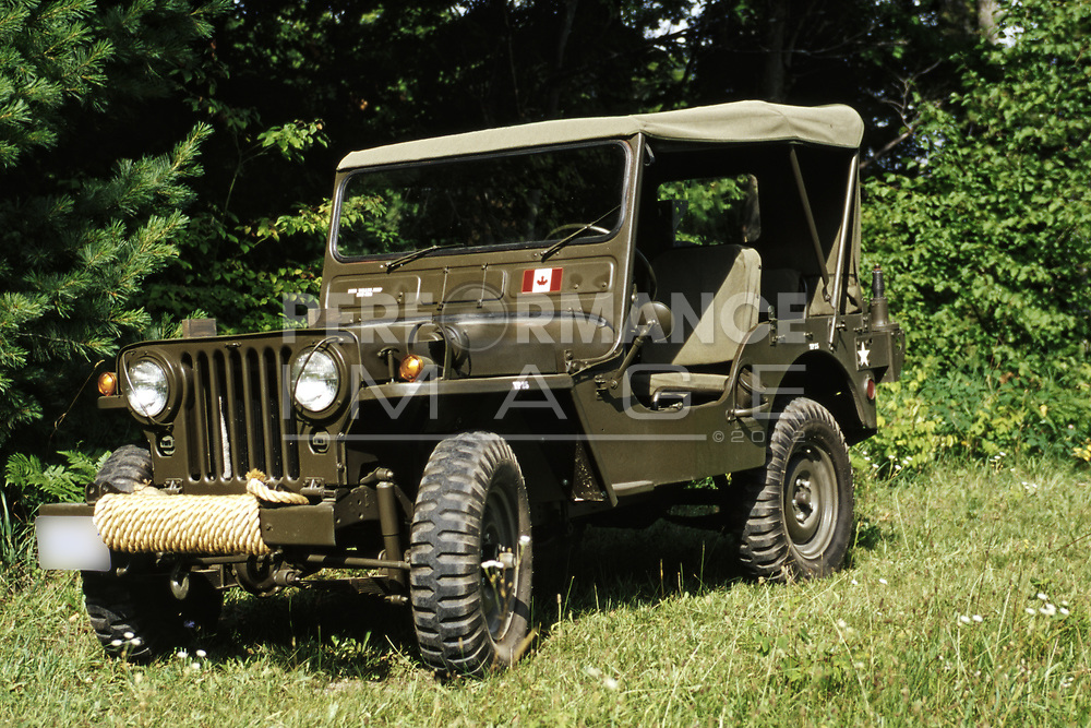 1952 Willys M38 Military Vehicle