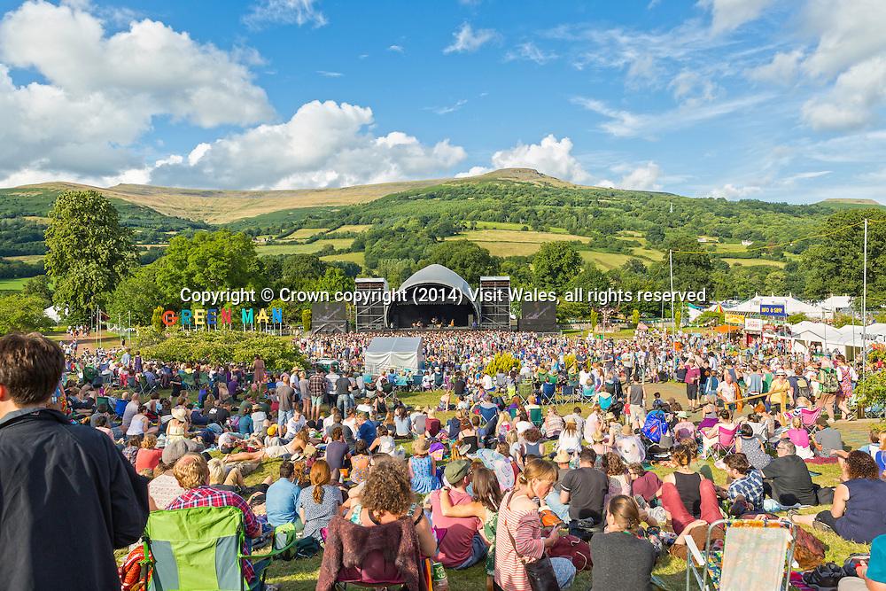 Green Man Festival 2013<br /> Glanusk Estate<br /> Brecon Beacons<br /> Powys<br /> South<br /> Music<br /> Arts<br /> Culture<br /> Cultural<br /> Events