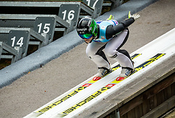 Spela Rogelj of Slovenia during Day 3 of World Cup Ski Jumping Ladies Ljubno 2019, on February 10, 2019 in Ljubno ob Savinji, Slovenia. Photo by Matic Ritonja / Sportida