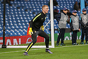 Manchester City goalkeeper Joe Hart  during the Champions League match between Manchester City and Borussia Monchengladbach at the Etihad Stadium, Manchester, England on 8 December 2015. Photo by Simon Davies.