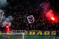 Viole, fans of Maribor during football match between NK Olimpija and NK Maribor in Round #31 of Prva liga Telekom Slovenije 2016/17, on April 29, 2017 in SRC Stozice, Ljubljana, Slovenia. Photo by Vid Ponikvar / Sportida
