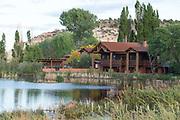 The Boulder Mountain Lodge in Boulder, Utah.