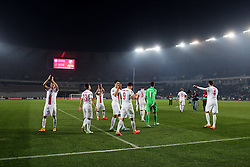 14.11.2014, Boris Paitschadse Nationalstadion, Tiflis, GEO, UEFA Euro Qualifikation, Georgien vs Polen, Gruppe D, im Bild POLSKA RADOSC // during the UEFA EURO 2016 Qualifier group D match between Georgia and Poland at the Boris Paitschadse Nationalstadion in Tiflis, Georgia on 2014/11/14. EXPA Pictures &copy; 2014, PhotoCredit: EXPA/ Newspix/ Lukasz Grochala<br /> <br /> *****ATTENTION - for AUT, SLO, CRO, SRB, BIH, MAZ, TUR, SUI, SWE only*****