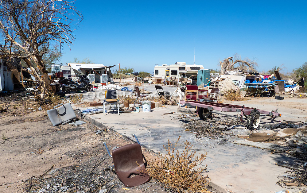 Slab City Residential Community
