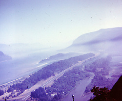 Vacation trip to Oregon & Washington State,  circa 1967<br /> <br />  Photos taken by George Look.  Image started as a color slide.