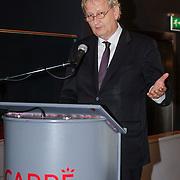 NLD/Amsterdam/20121129- Presentatie Jubileumboek 125 jaar historie Carre, burgemeester Eberhard van der Laan
