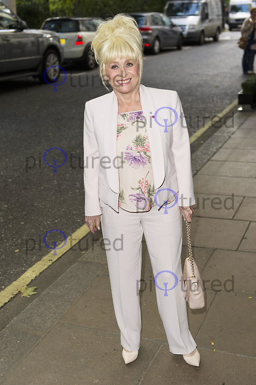 Barbara Windsor , Children In Need - gala lunch, The Savoy Hotel, London UK, 27 October 2013, Photo by Raimondas Kazenas