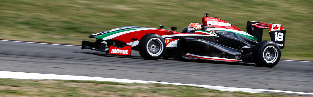 Lance Stroll in action in the New Zealand Grand Prix. Toyota Racing Series, Manfeild Motorsport Park, Feidling, New Zealand. Sunday, 15 February, 2015. Photo: John Cowpland / www.photosport.co.nz