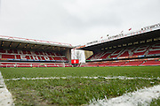 Corner spot ahead of the EFL Sky Bet Championship match between Nottingham Forest and Bristol City at the City Ground, Nottingham, England on 21 January 2017. Photo by Jon Hobley.