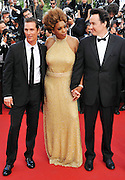 """24.MAY.2012. CANNES<br /> <br /> MACY GREY, JONH CUSACK AND MATTHEW MCCONAUGHEY ATTEND THE """"PAPERBOY"""" FILM PREMIERE AT THE 2012 CANNES FILM FESTIVAL.<br /> <br /> BYLINE: EDBIMAGEARCHIVE.CO.UK<br /> <br /> *THIS IMAGE IS STRICTLY FOR UK NEWSPAPERS AND MAGAZINES ONLY*<br /> *FOR WORLD WIDE SALES AND WEB USE PLEASE CONTACT EDBIMAGEARCHIVE - 0208 954 5968*"""