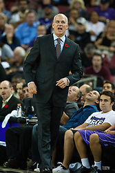November 1, 2010; Sacramento, CA, USA;  Toronto Raptors head coach Jay Triano on the sideliens during the second quarter against the Sacramento Kings at the ARCO Arena.