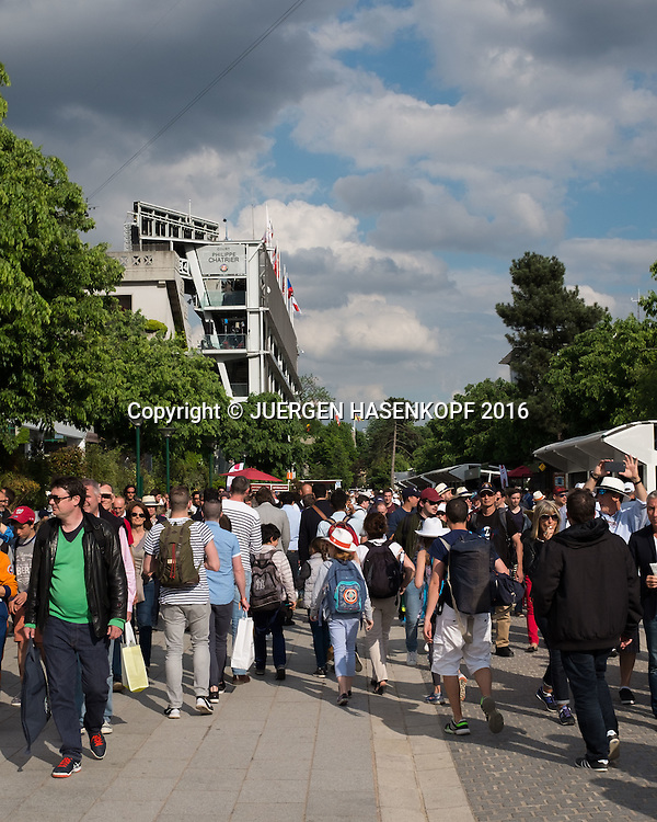 French Open 2015 Feature<br /> <br /> Tennis - French Open 2016 - Grand Slam ITF / ATP / WTA -  Roland Garros - Paris -  - France  - 25 May 2016.