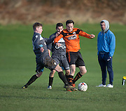 - Riverside CSC (grey) v DUSC (tangerine) in the Dundee Saturday Morning Football Premier League at Drumgeith, Dundee - Photo: David Young, <br /> <br />  - © David Young - www.davidyoungphoto.co.uk - email: davidyoungphoto@gmail.com