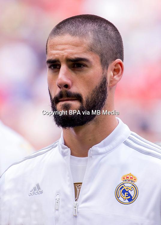 Spain - Liga BBVA 2015-2016 / <br /> ( Real Madrid CF ) - <br /> Francisco Roman Alarcon Suarez &quot; Isco &quot;