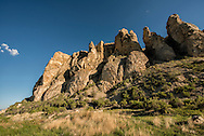 Beaverhead Rock State Park, Beaverhead Rock, Lewis and Clark landmark, Montana, 4,949 feet