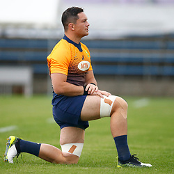 TOKYO, JAPAN - OCTOBER 15: Francois Louw during the South African national rugby team training session at Fuchu Asahi Football Park on October 15, 2019 in Tokyo, Japan. (Photo by Steve Haag/Gallo Images)