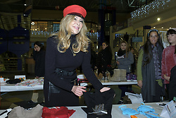 December 20, 2017 - Madrid, Spain - Ana Obregon attend the solidarity market in favor of the Fundación Porque Viven in Madrid. Spain. December 20, 2017  (Credit Image: © Oscar Gonzalez/NurPhoto via ZUMA Press)